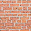 Old wall with red brick background — Stock Photo