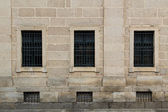 Symmetric windows — Stock Photo