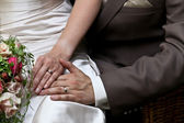 結婚されていたカップル — ストック写真