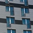 Stock Photo: Structured facade