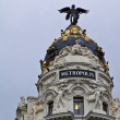 Metropolis building in Madrid — Stock Photo #8026176