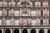 Plaza mayor facade — Stock Photo
