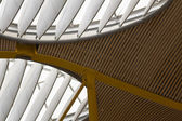 Modern airport ceiling — Stock Photo