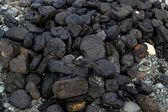 Pile of natural coal — Stock Photo
