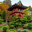 Pagoda in the Japanese Tea Garden — Stockfoto