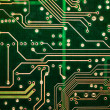 PCB Abstract green circuit board tracks — Stock Photo #8989588