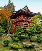 Pagoda in the Japanese Tea Garden — Stock Photo