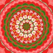 Royalty-Free Stock Photo: Mandala Round Ornament Pattern Floral Drawing