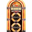 Retro Jukebox isolated - Stock Photo