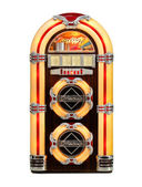 Retro jukebox isolerade — Stockfoto
