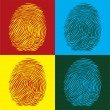 Stock Vector: Fingerprints