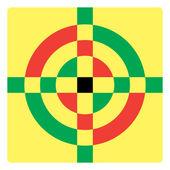 Croshair symbol — Stock Vector