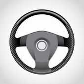 Steering wheel — Stock Vector