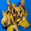 Dance troupe of Russian folk art — Stock Photo #8345561