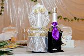 Wedding champagne — Stock Photo