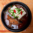 Korean food, fish soup - Stock Photo