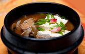 Chinese food, fish soup — Stock Photo
