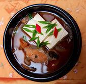 Korean food, fish soup — Stock Photo