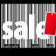 BIg sale bar-code illustration — Stock Photo