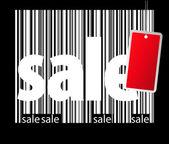 BIg sale bar-code illustration — Stock Photo