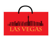 Las Vegas shopping — Stock Vector