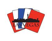 Las Vegas card — Stock Vector
