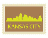 Kansas City stamp — Stock Vector