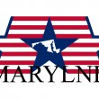 Royalty-Free Stock Imagen vectorial: Maryland