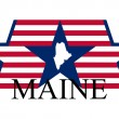Maine sign — Stock Vector #8812728