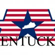 Kentucky — Stockvectorbeeld