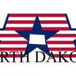 North Dakota — Stock Vector