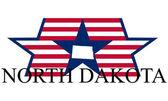 North dakota — Stockvector