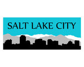Salt Lake City — Stock Vector