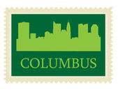 Columbus st — Stock Vector