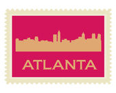 Atlanta St — Stock Vector