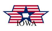 Iowa st — Stock Vector