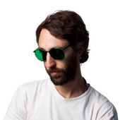 Man with Cool glasses — Stock Photo