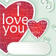 Love message — Foto de Stock