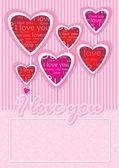Love message — Stock Photo