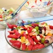 Fruit mixture in bowl — Stock Photo #10649245