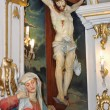Stock Photo: Crucified Jesus Christ and Mary