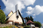 Catholic church in the Podhorie, Slovakia — Stock Photo