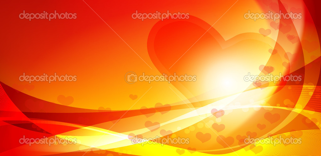 Heart, valentines day card -  vector  Stock Vector #8211466