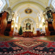 Stock Photo: Interior of Catholic Church in Stefultov