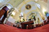 The interior of the Catholic Church in Stefultov — Stockfoto
