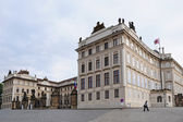 Prague Castle on Hradcany Square — Стоковое фото
