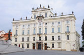 Prague Castle on Hradcany Square — Stock Photo
