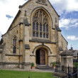 Stock Photo: Church in chipping campden, uk