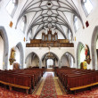 The interior of the Catholic Church in Banska Stiavnica — Stock Photo
