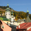 Historic center town BanskStiavnica, SlovakiUnesco — Stockfoto #9008083